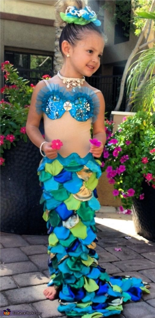 Best ideas about Mermaid Halloween Costumes DIY . Save or Pin 25 best ideas about Homemade Mermaid Costumes on Now.