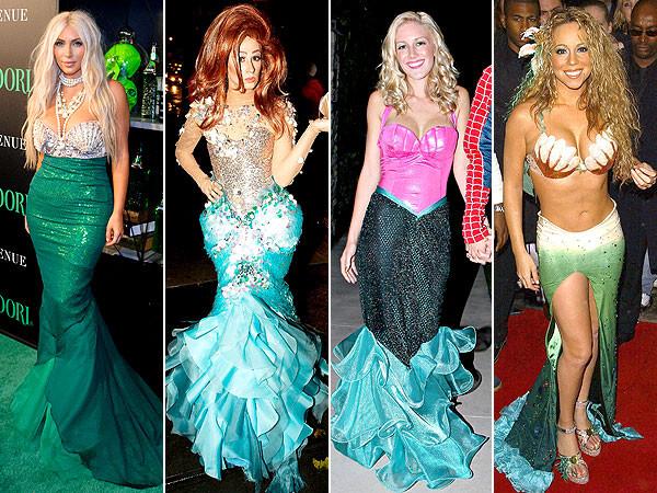 Best ideas about Mermaid Halloween Costumes DIY . Save or Pin PHOTO Lauren Conrad Mermaid Costume DIY Halloween Now.