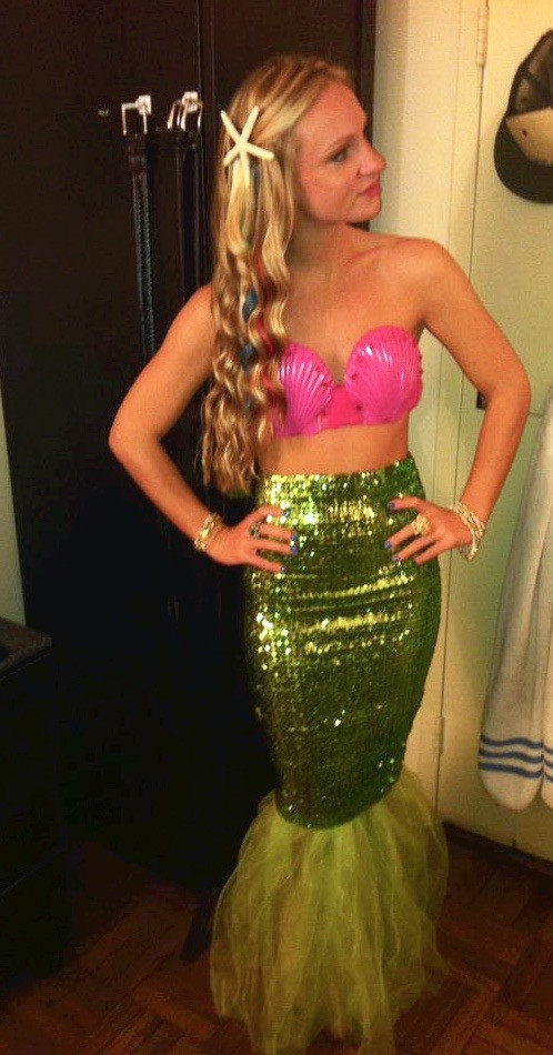 Best ideas about Mermaid Halloween Costumes DIY . Save or Pin The Halloween Edition Five DIY Costumes Ideas — I Think Now.