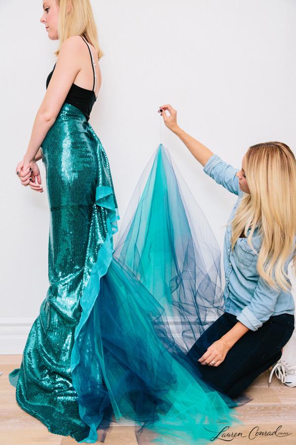 Best ideas about Mermaid Halloween Costumes DIY . Save or Pin Hocus Pocus My Mermaid Halloween Costume Lauren Conrad Now.