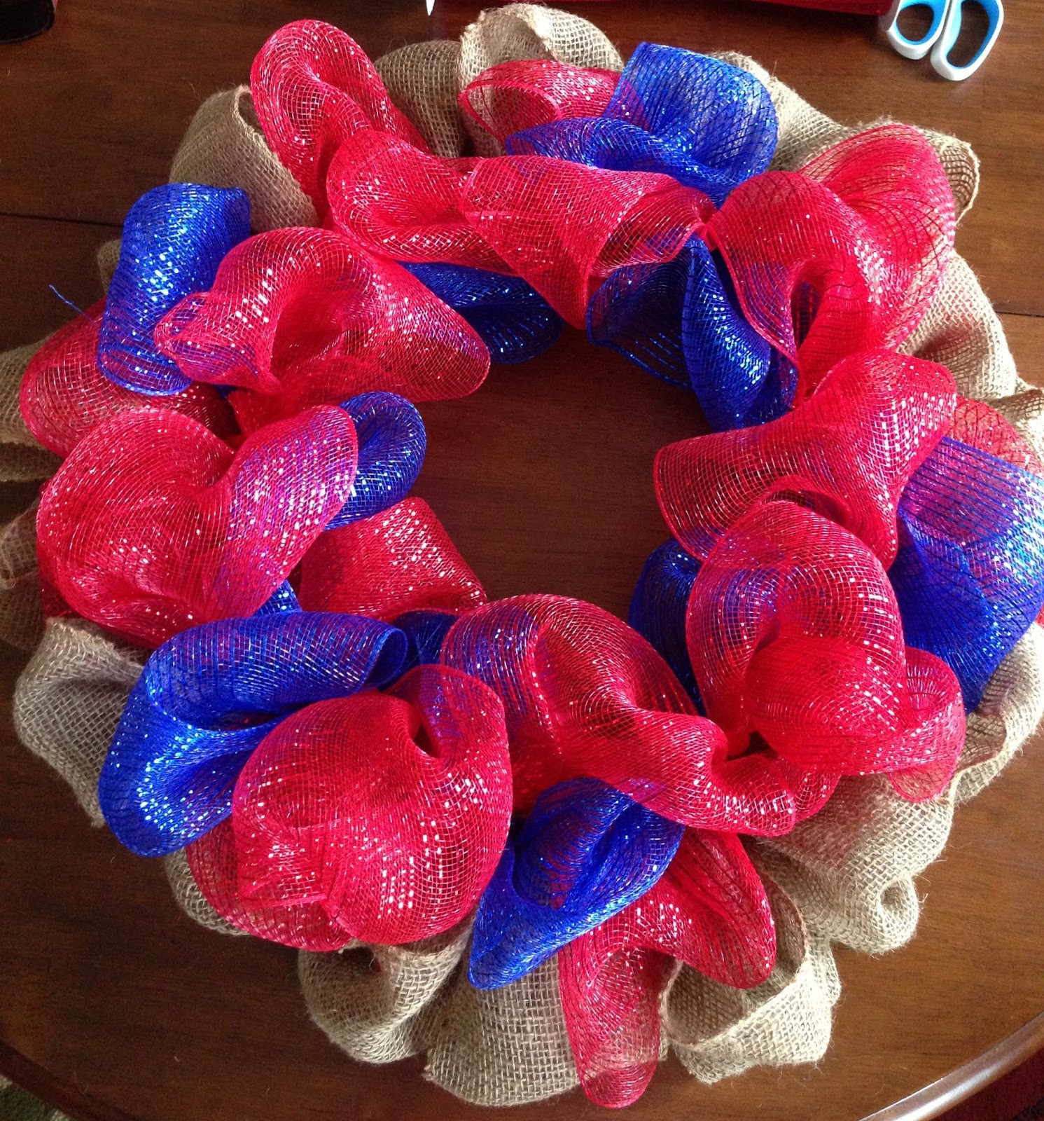 Best ideas about Mesh Wreaths DIY . Save or Pin A Little Bolt of Life 4th of July Deco Mesh Wreath DIY Now.