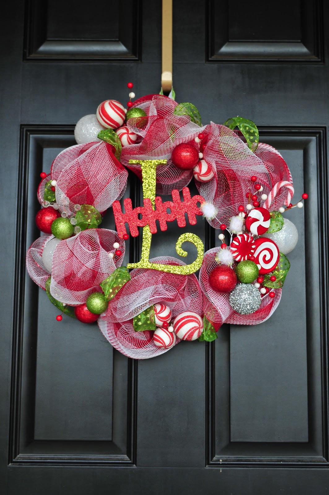 Best ideas about Mesh Wreaths DIY . Save or Pin DIY Til We Die Easy Christmas mesh wreaths Now.