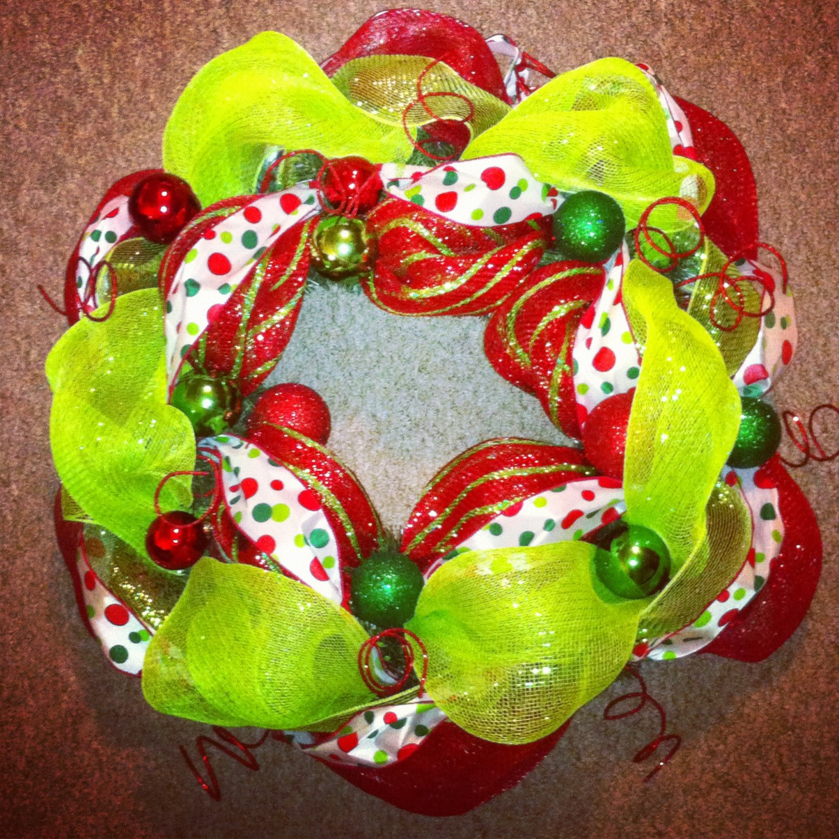Best ideas about Mesh Wreaths DIY . Save or Pin Peace Love 2 Sisters DIY Mesh Wreath Now.