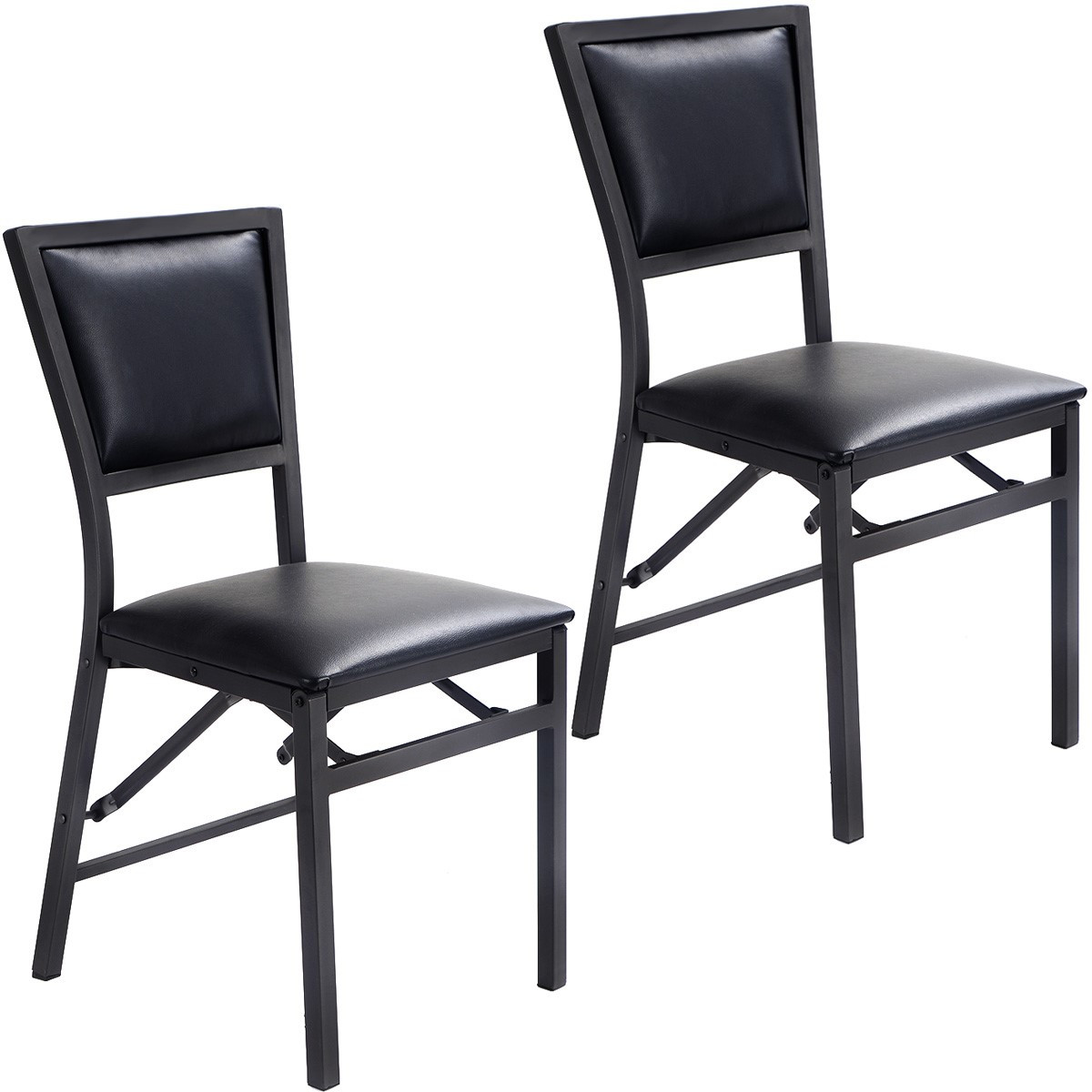 Best ideas about Metal Folding Chair . Save or Pin Costway Set of 2 metal Folding Chair Dining Chairs Home Now.