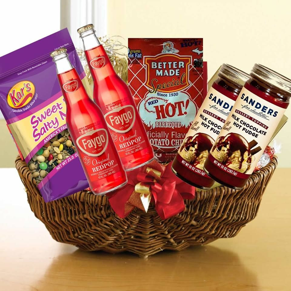Best ideas about Michigan Gift Ideas . Save or Pin Michigan Detroit themed t baskets for Christmas Items Now.