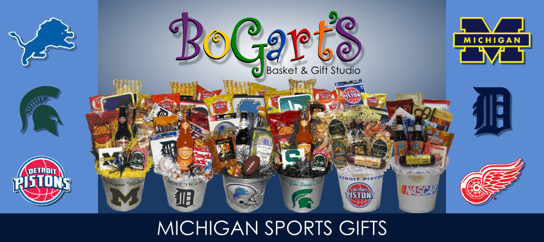 Best ideas about Michigan Gift Ideas . Save or Pin Basket Sports Gift Baskets BOGARTS GIFTS WIN SCHULERS Now.