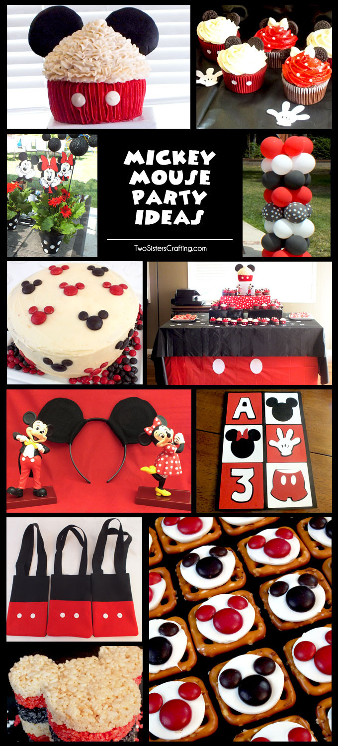 Best ideas about Mickey Mouse Birthday Decorations . Save or Pin Mickey Mouse Party Ideas Two Sisters Now.