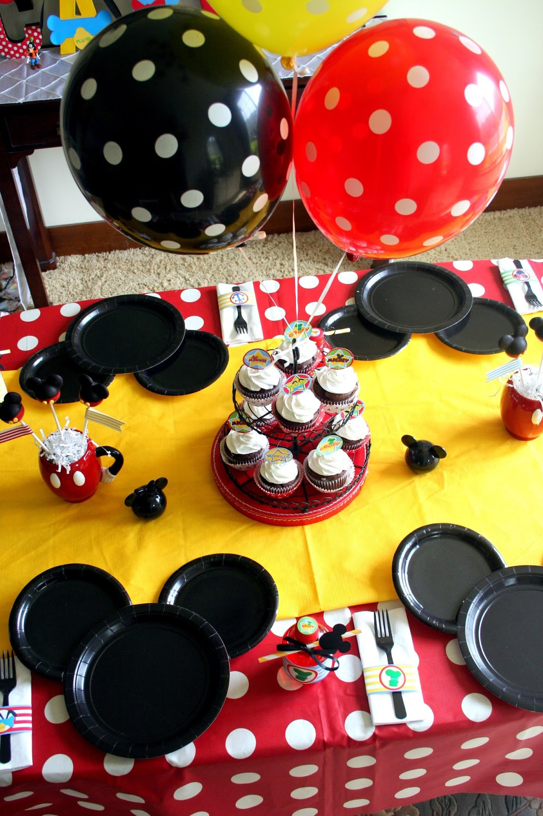 Best ideas about Mickey Mouse Birthday Decorations . Save or Pin The Carver Crew A VERY MICKEY BIRTHDAY Now.