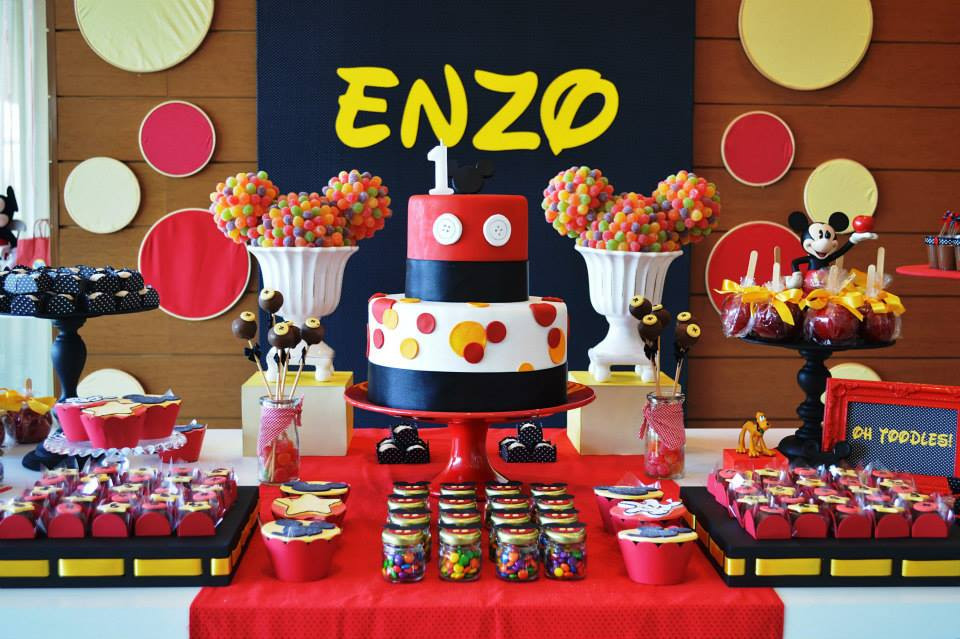 Best ideas about Mickey Mouse Birthday Decorations . Save or Pin 20 Awesome Mickey Mouse Birthday Party Ideas Now.
