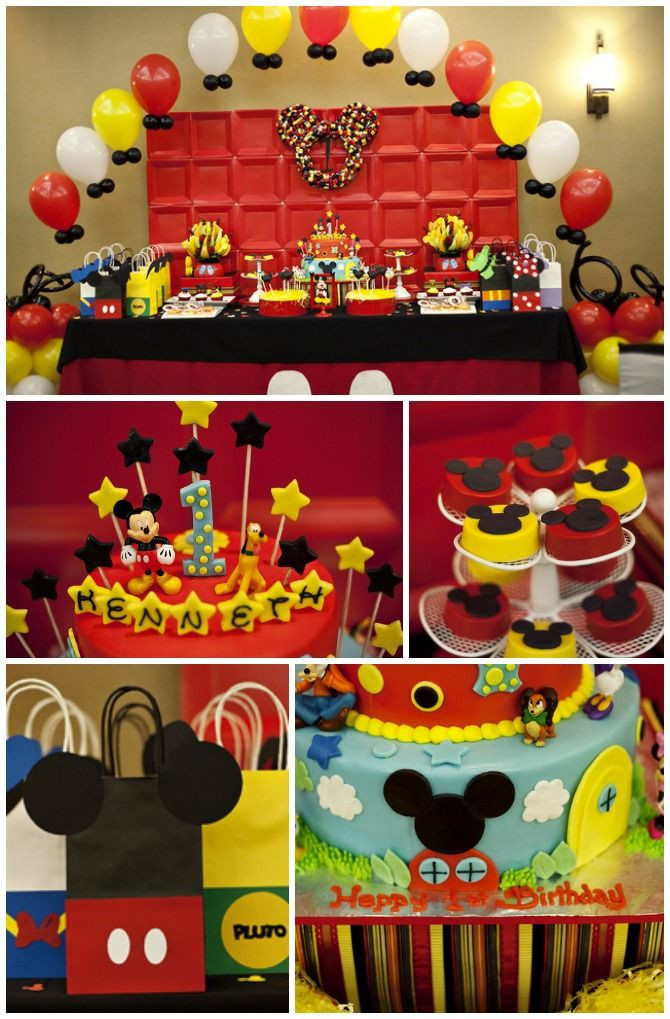 Best ideas about Mickey Mouse Birthday Decorations . Save or Pin Friday Inspiration Mickey Mouse Themed Parties Now.