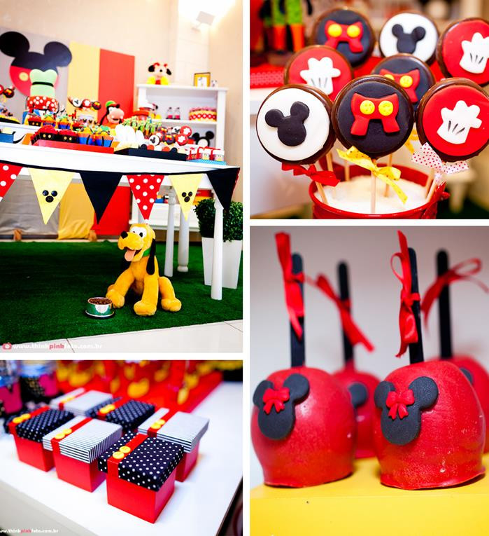 Best ideas about Mickey Mouse Birthday Decorations . Save or Pin Kara s Party Ideas Mickey Mouse Birthday Party Planning Now.