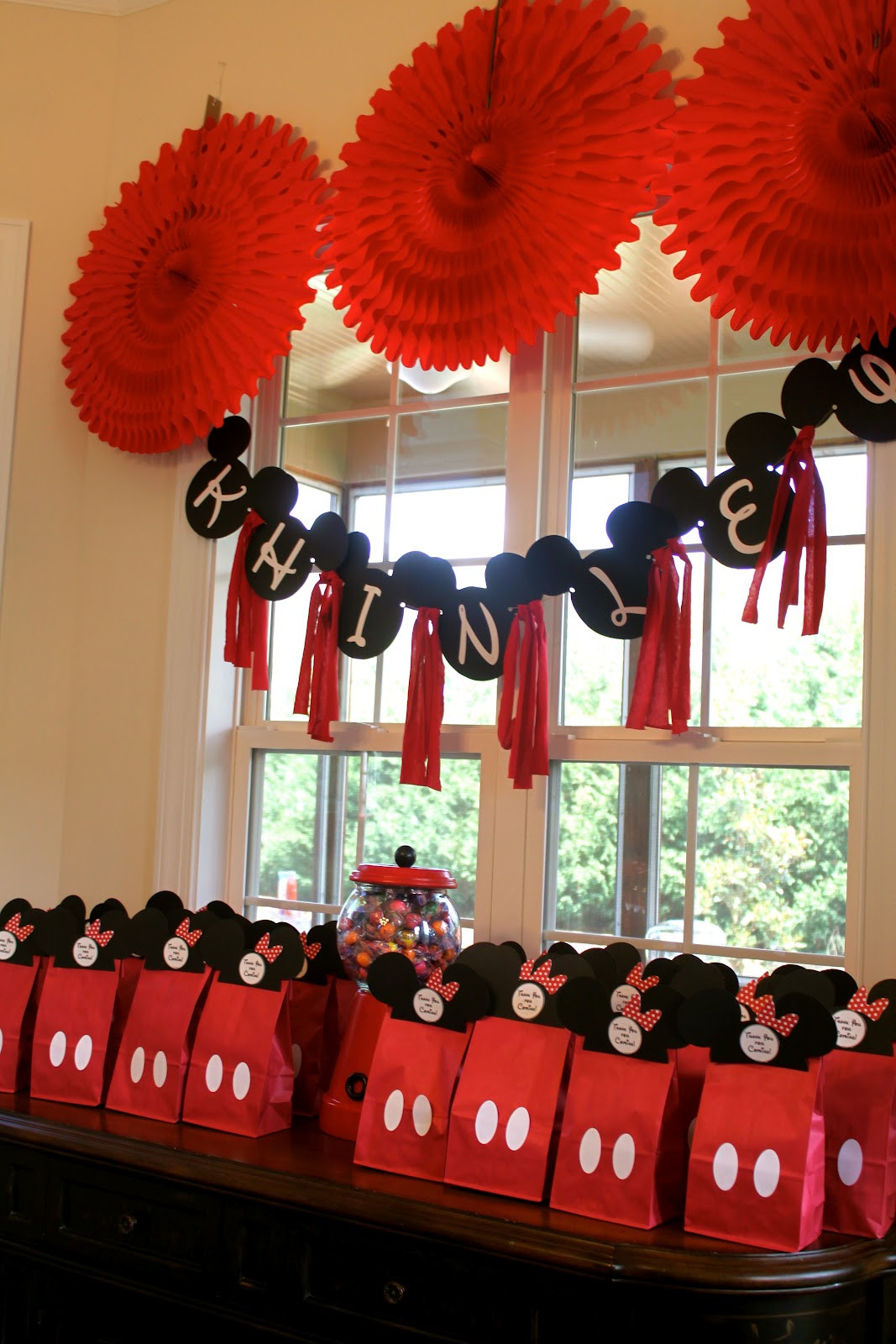 Best ideas about Mickey Mouse Birthday Decorations . Save or Pin mae armstrong designs Minnie Mouse 2nd Birthday Party Now.