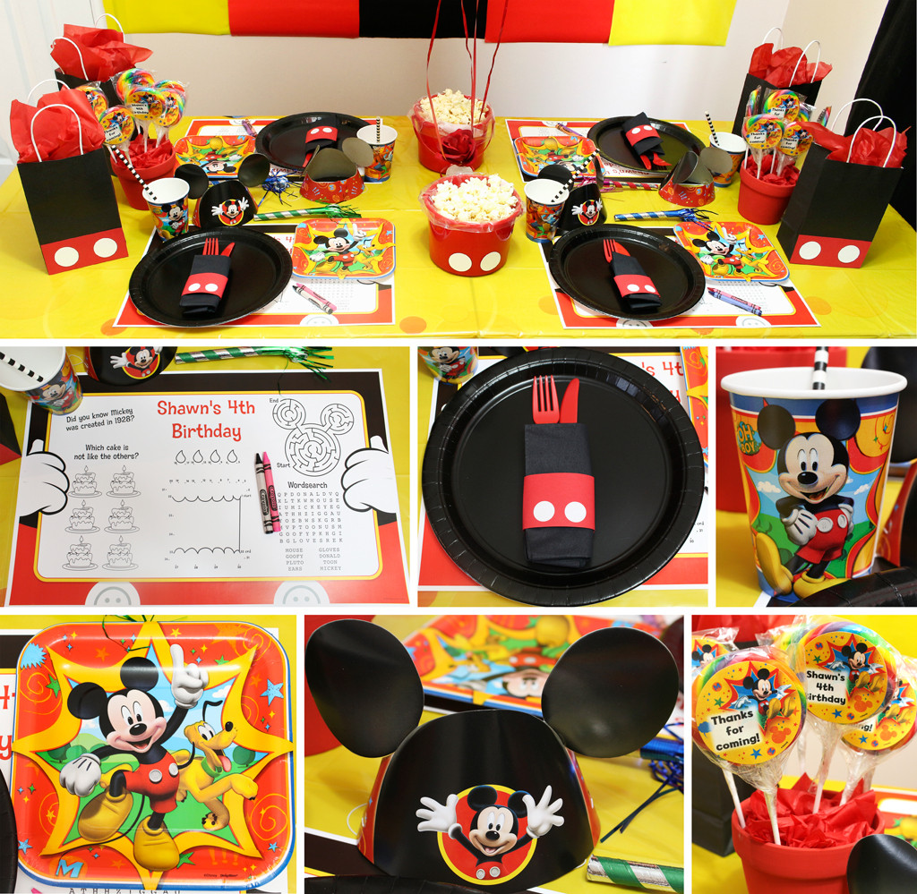 Best ideas about Mickey Mouse Birthday Decorations . Save or Pin Mickey Mouse Party Now.