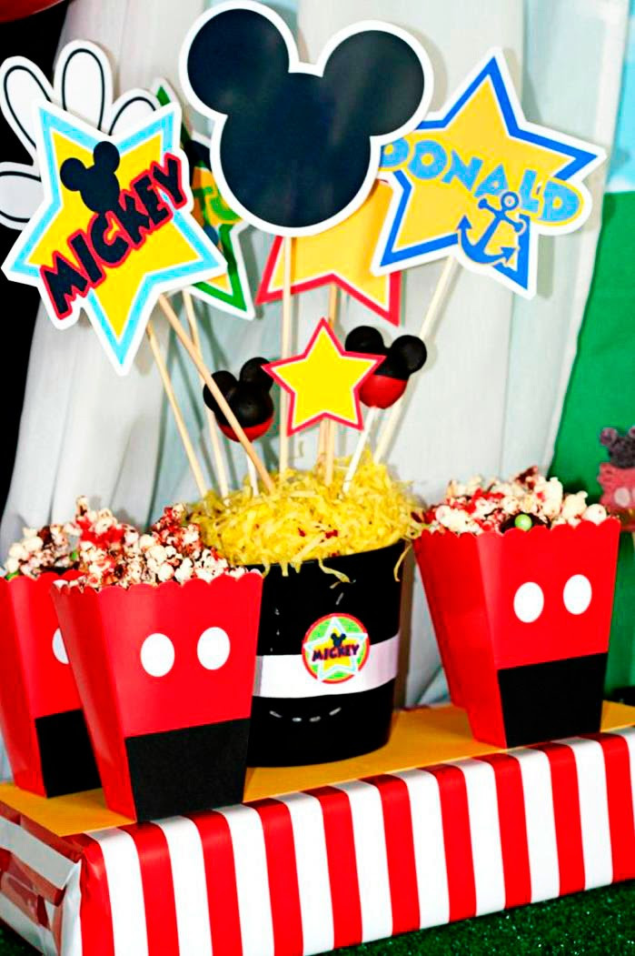 Best ideas about Mickey Mouse Birthday Decorations . Save or Pin Amanda s Parties To Go Mickey Mouse Party Now.