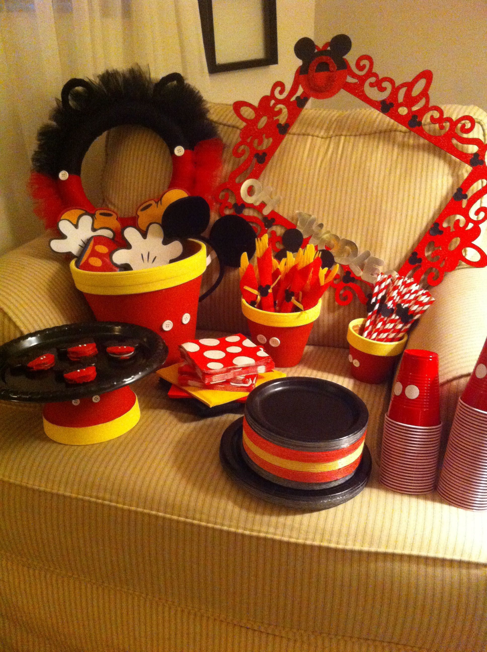 Best ideas about Mickey Mouse Birthday Party Supplies . Save or Pin 58 Mickey Mouse Birthday Party Ideas 2016 Pink Lover Now.