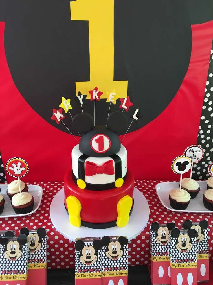 Best ideas about Mickey Mouse Birthday Party Supplies . Save or Pin 832 best Mickey Mouse Party Ideas images on Pinterest Now.