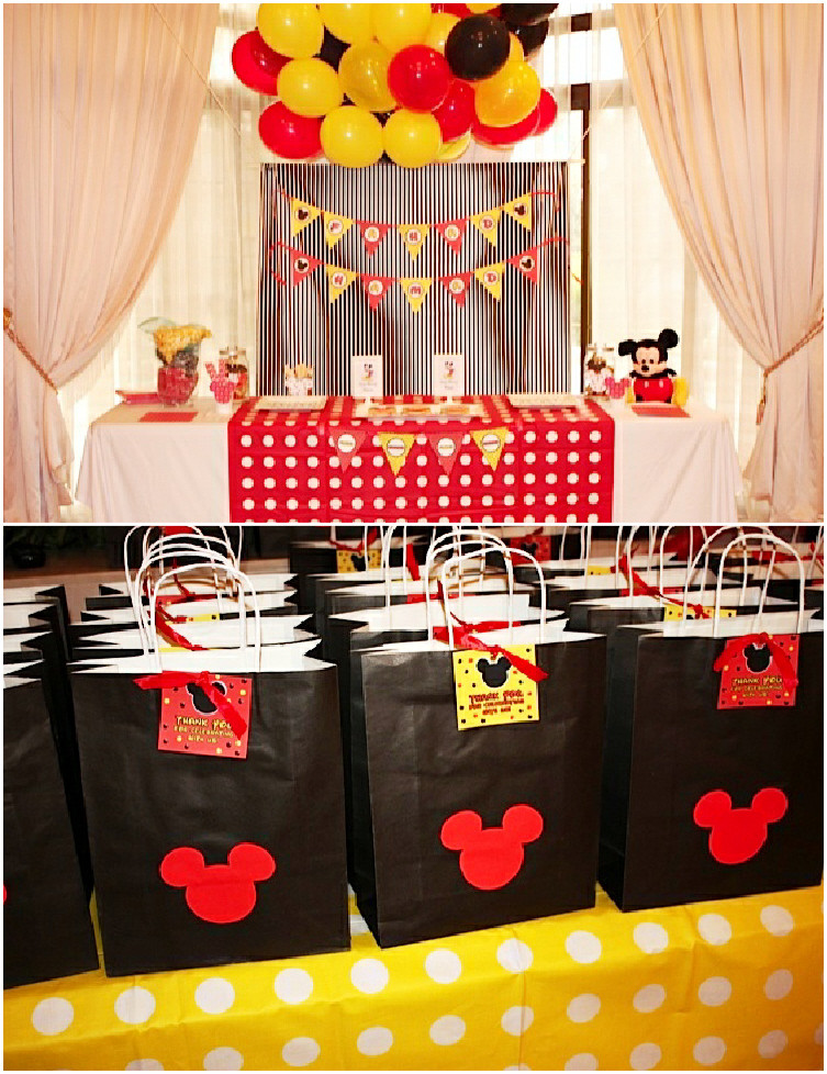 Best ideas about Mickey Mouse Birthday Party Supplies . Save or Pin A Retro Mickey Inspired Birthday Party Party Ideas Now.