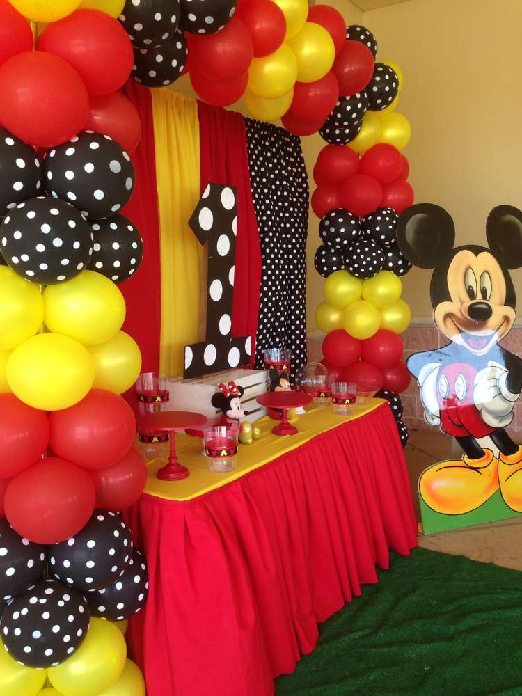 Best ideas about Mickey Mouse Birthday Party Supplies . Save or Pin Mickey Mouse Birthday Party Ideas 1 of 11 Now.