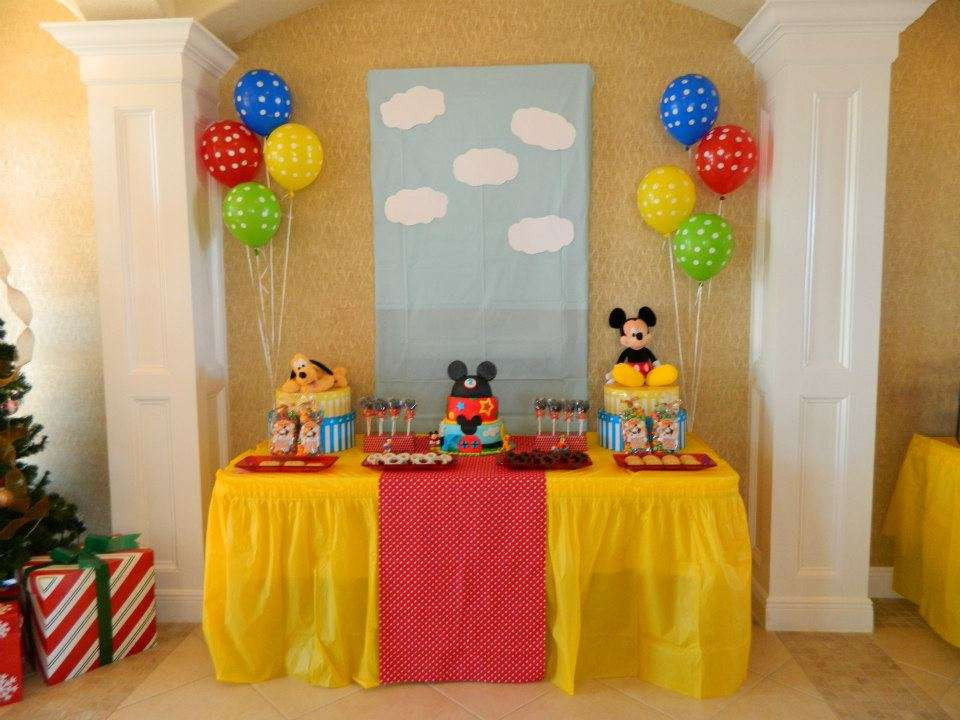 Best ideas about Mickey Mouse Clubhouse Birthday Decorations . Save or Pin Mickey Mouse Clubhouse Birthday Party Ideas Now.