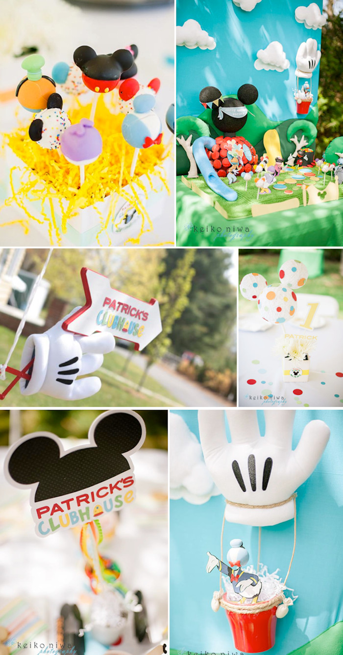 Best ideas about Mickey Mouse Clubhouse Birthday Decorations . Save or Pin Kara s Party Ideas Mickey Mouse Clubhouse 1st Birthday Now.