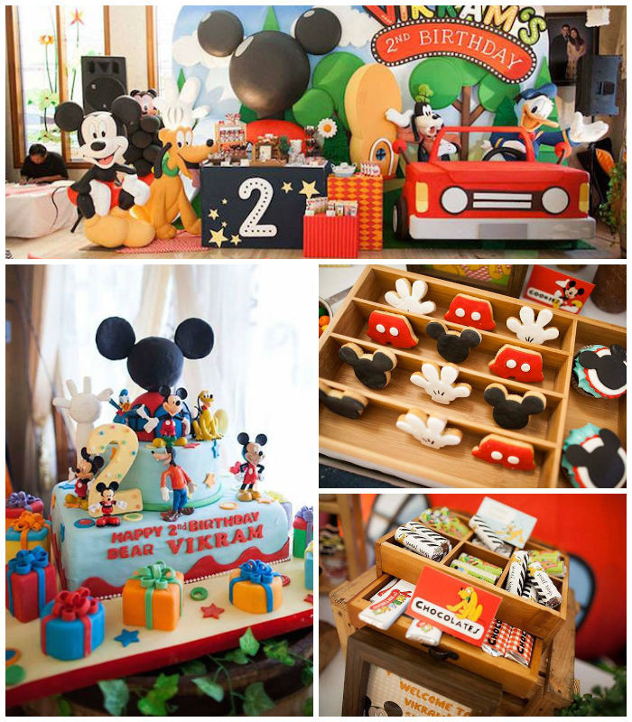 Best ideas about Mickey Mouse Clubhouse Birthday Decorations . Save or Pin Kara s Party Ideas Mickey Mouse Clubhouse Birthday Party Now.