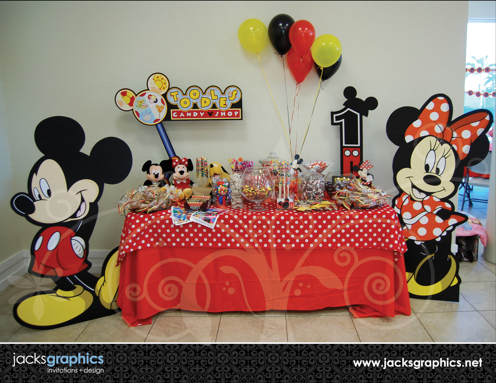 Best ideas about Mickey Mouse Clubhouse Birthday Decorations . Save or Pin Mickey Mouse Clubhouse Party Design Now.