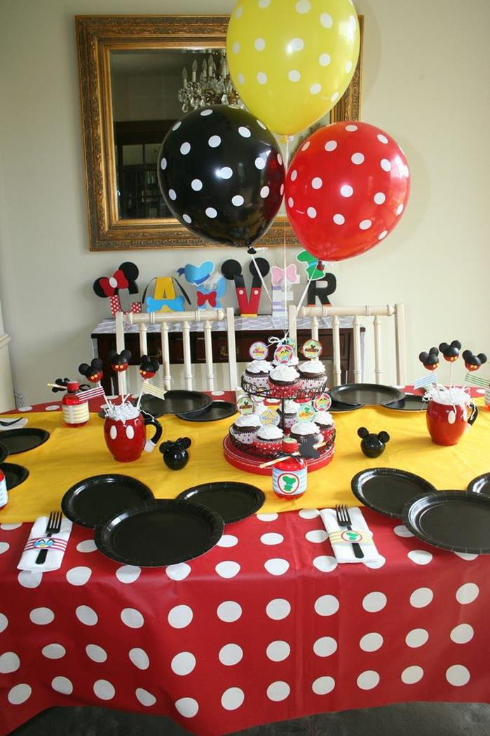 Best ideas about Mickey Mouse Clubhouse Birthday Decorations . Save or Pin Kara s Party Ideas Mickey Mouse Clubhouse Party via Kara s Now.