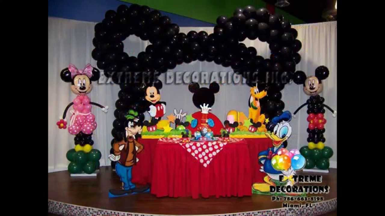 Best ideas about Mickey Mouse Clubhouse Birthday Decorations . Save or Pin Creative Mickey mouse clubhouse birthday party decorations Now.