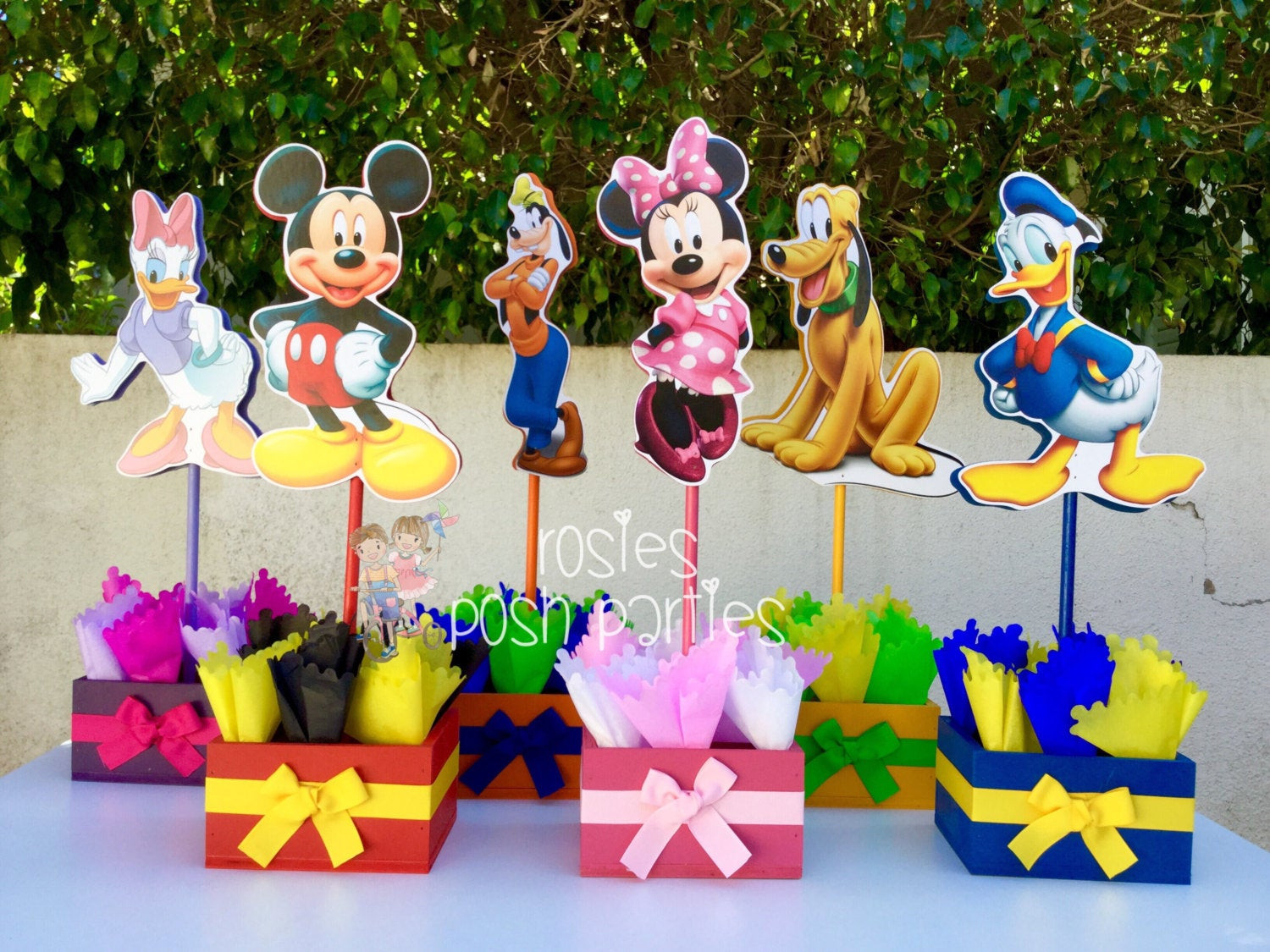 Best ideas about Mickey Mouse Clubhouse Birthday Decorations . Save or Pin Mickey Mouse Clubhouse birthday party wood by Now.