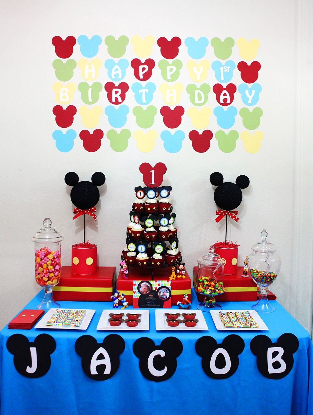 Best ideas about Mickey Mouse First Birthday Decorations . Save or Pin Mickey Mouse Party Ideas Now.