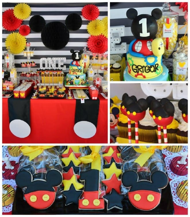 Best ideas about Mickey Mouse First Birthday Decorations . Save or Pin 29 Magical Mickey Mouse Party Ideas Now.