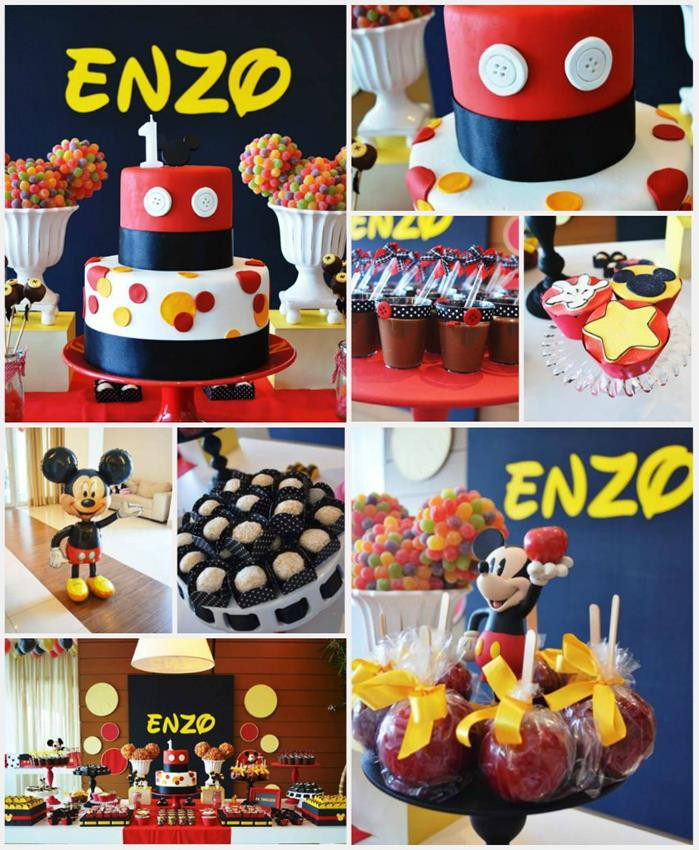 Best ideas about Mickey Mouse First Birthday Decorations . Save or Pin Kara s Party Ideas Mickey Mouse First Birthday Party Now.