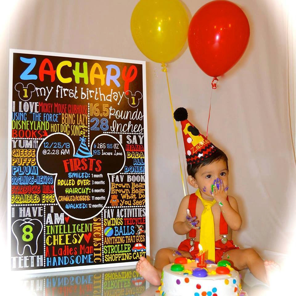 Best ideas about Mickey Mouse First Birthday Decorations . Save or Pin Mickey Mouse 1st Birthday Mickey Mouse Birthday idea first Now.
