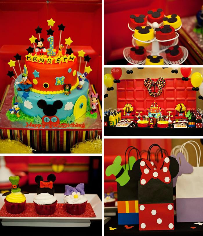 Best ideas about Mickey Mouse First Birthday Decorations . Save or Pin Kara s Party Ideas Mickey and Friends Birthday Party Now.
