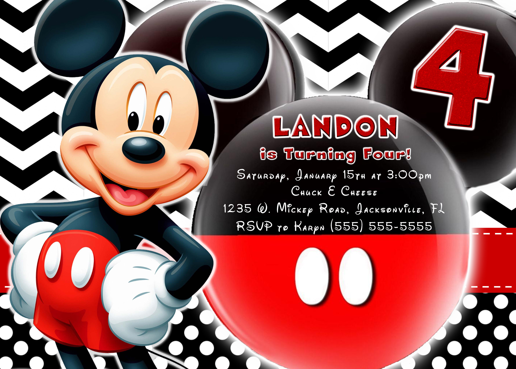Best ideas about Mickey Mouse Photo Birthday Invitations . Save or Pin Mickey Mouse and Mickey Mouse Clubhouse Birthday Now.