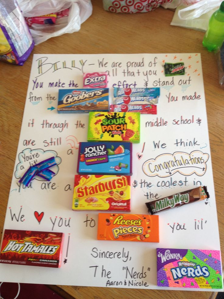Best ideas about Middle School Graduation Gift Ideas . Save or Pin 17 Best images about middle school graduation party on Now.