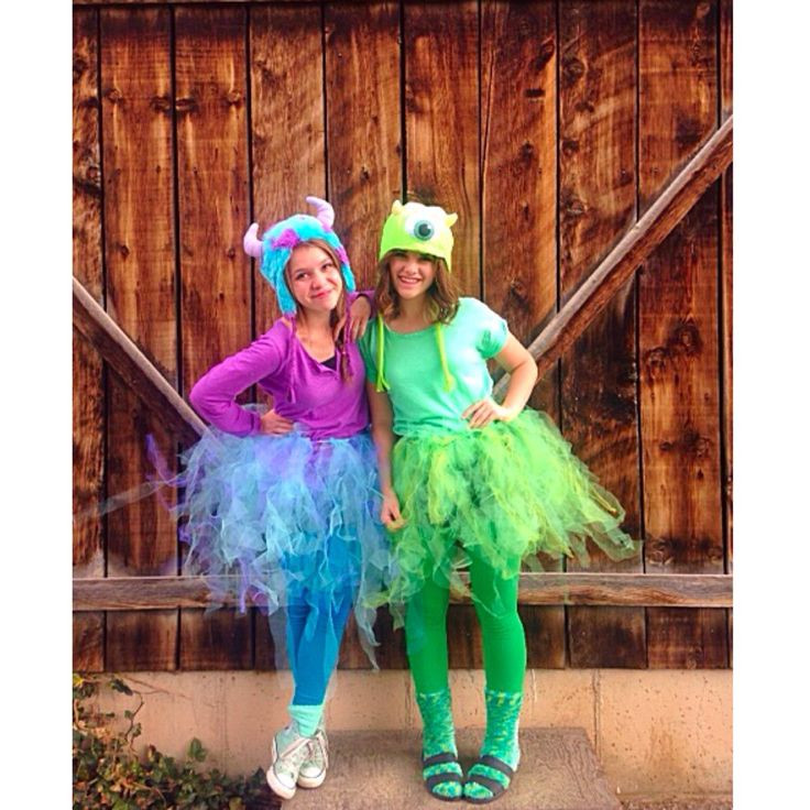 The Best Ideas For Mike And Sully Costumes Diy Best
