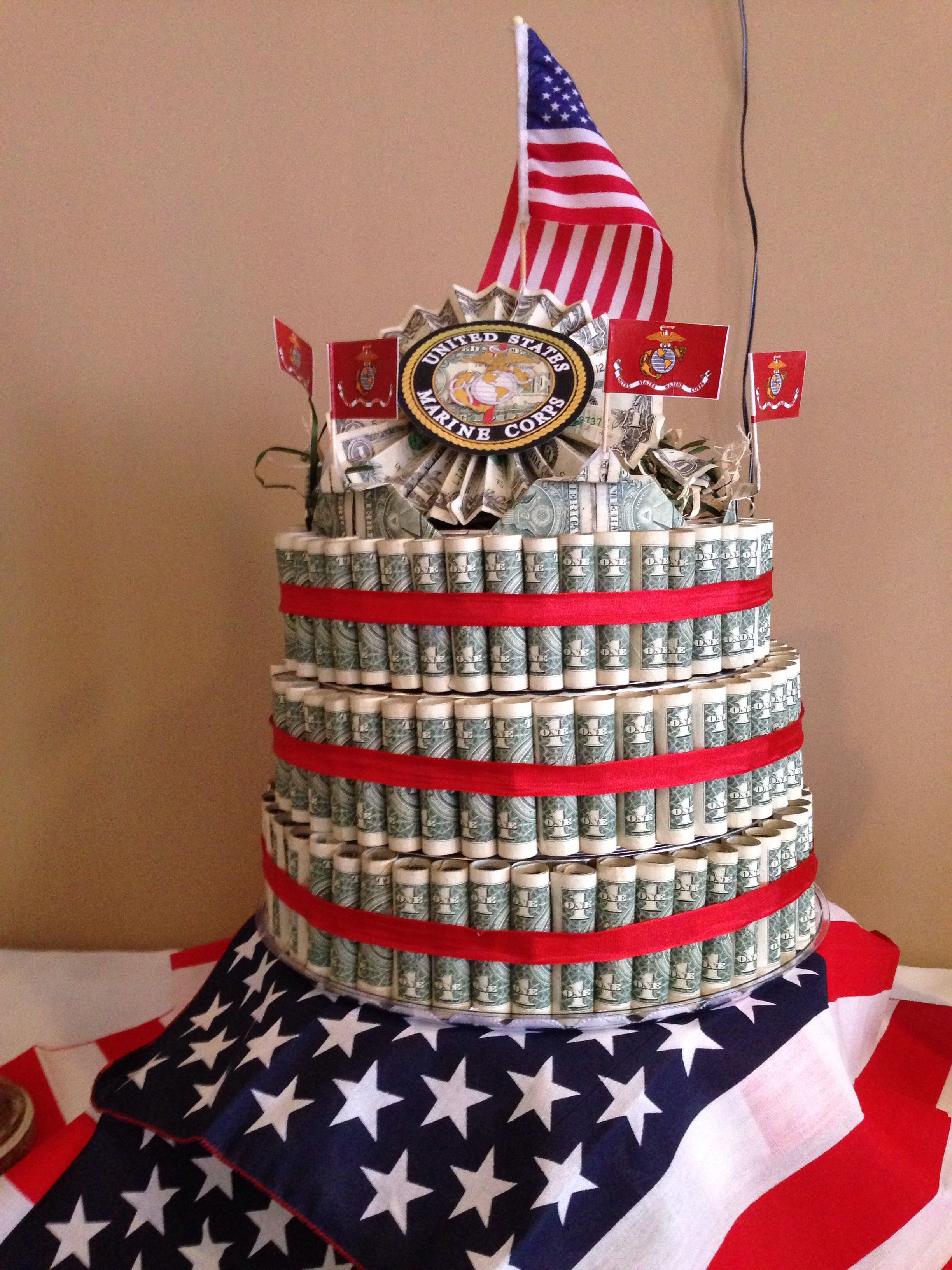 Best ideas about Military Graduation Gift Ideas . Save or Pin Marine Graduation Boot Camp Cake Now.