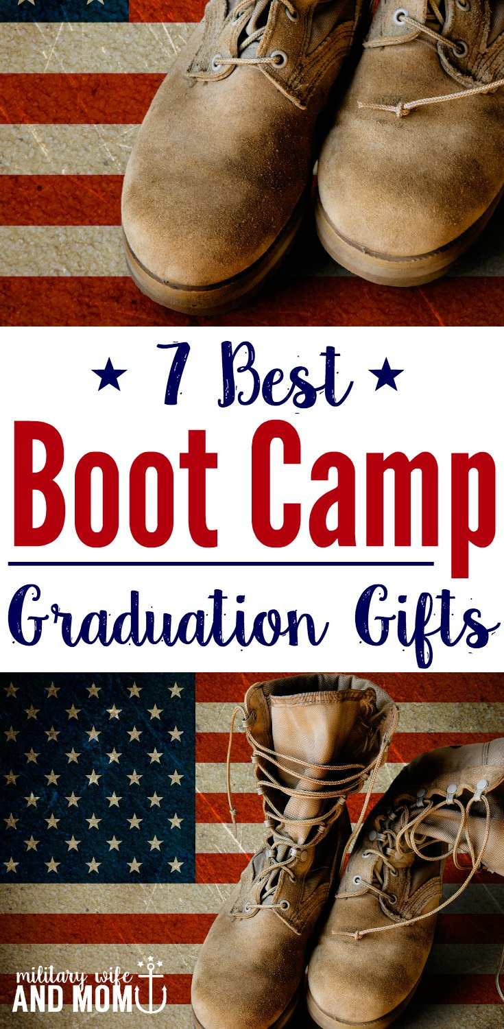 Best ideas about Military Graduation Gift Ideas . Save or Pin 7 Boot Camp Graduation Gifts That Will Make Your Service Now.