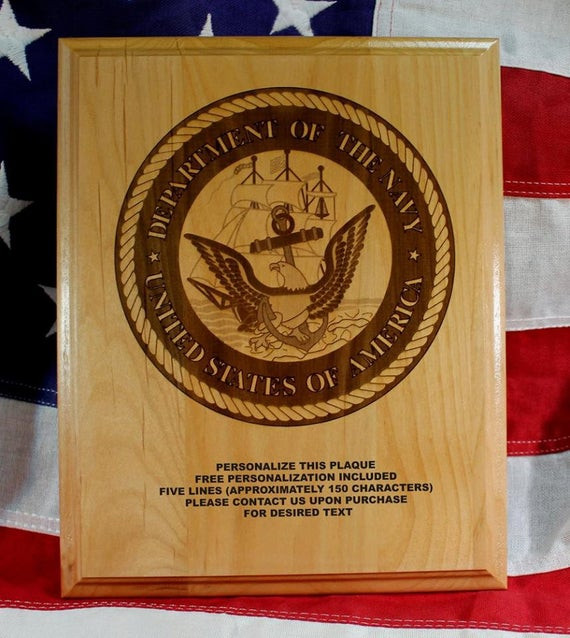 Best ideas about Military Graduation Gift Ideas . Save or Pin Personalized US Navy Seal Plaque military graduation t Now.