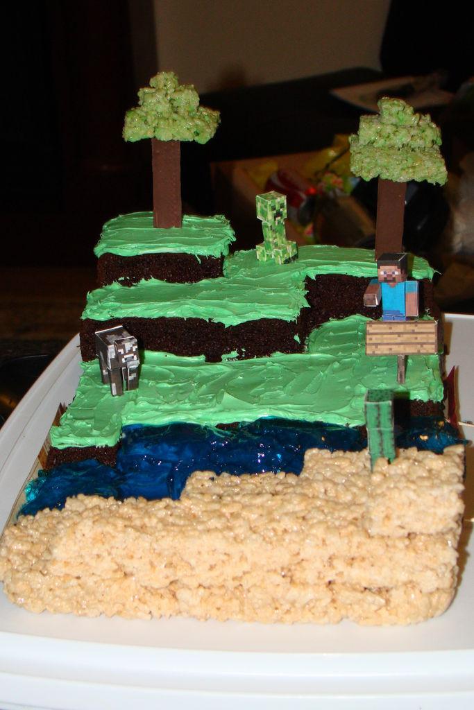 Best ideas about Minecraft Birthday Cake . Save or Pin Minecraft Birthday Cake Now.