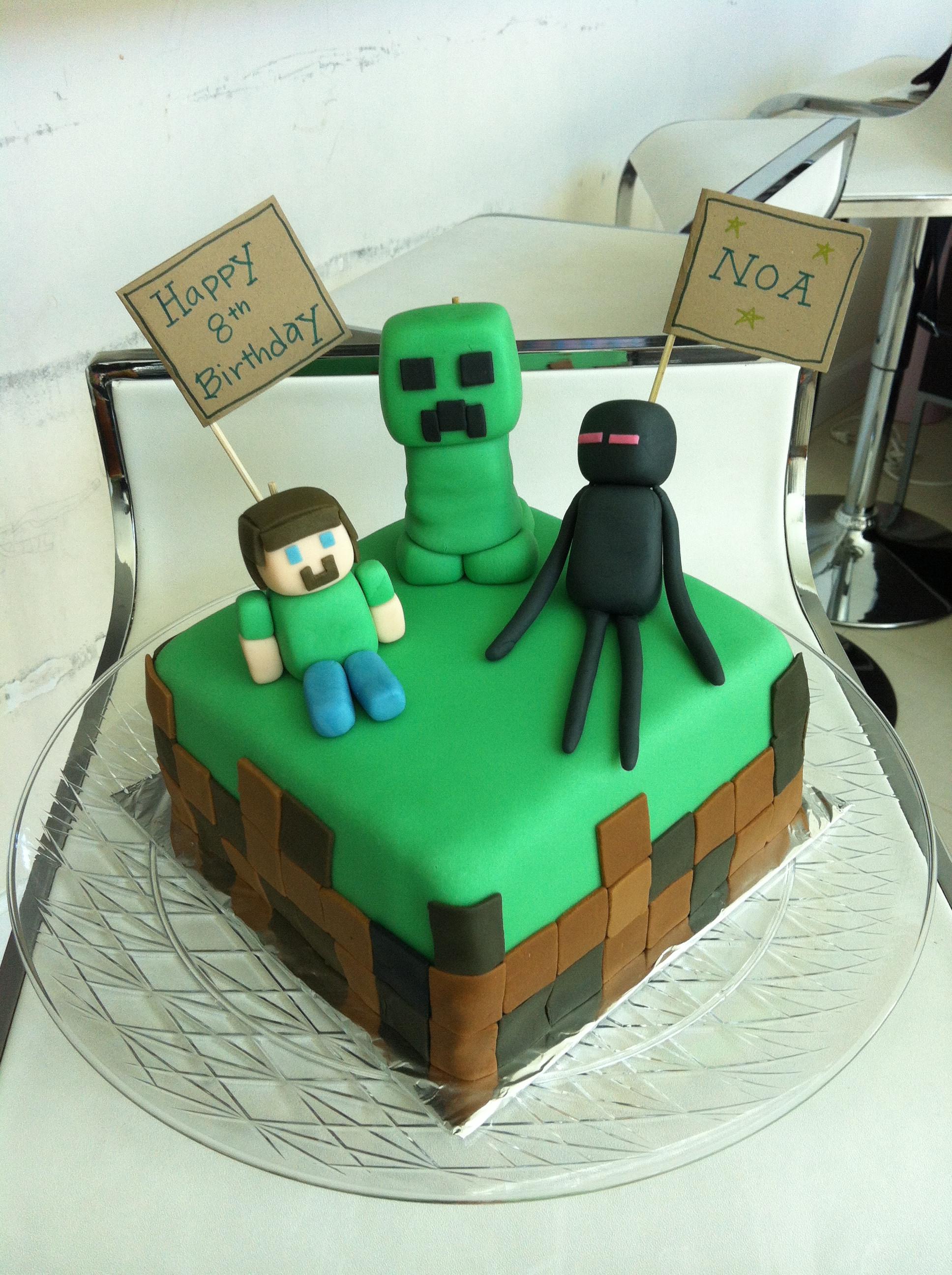 Best ideas about Minecraft Birthday Cake . Save or Pin Minecraft Cake Now.