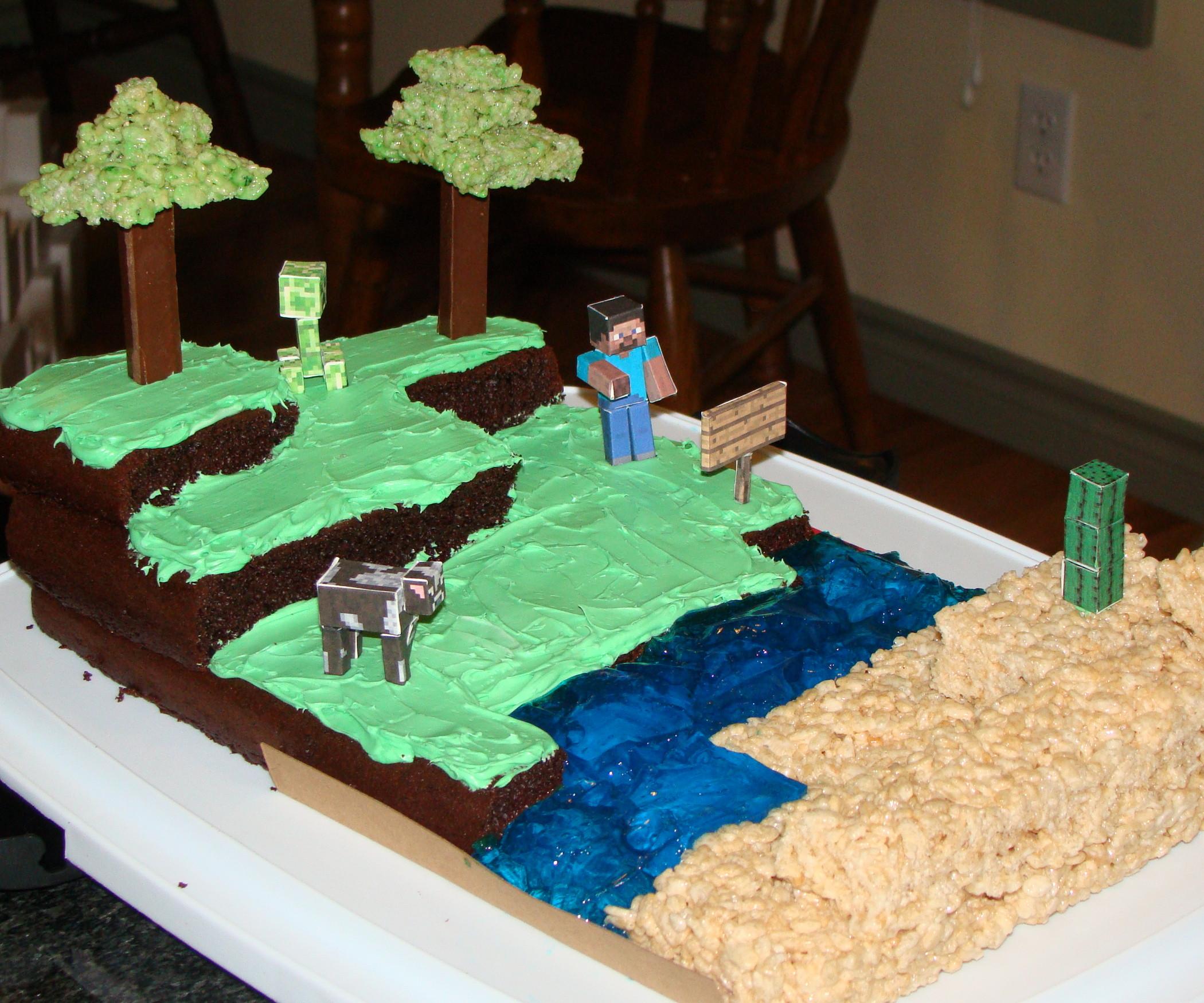 Best ideas about Minecraft Birthday Cake . Save or Pin Minecraft Birthday Cake All Now.