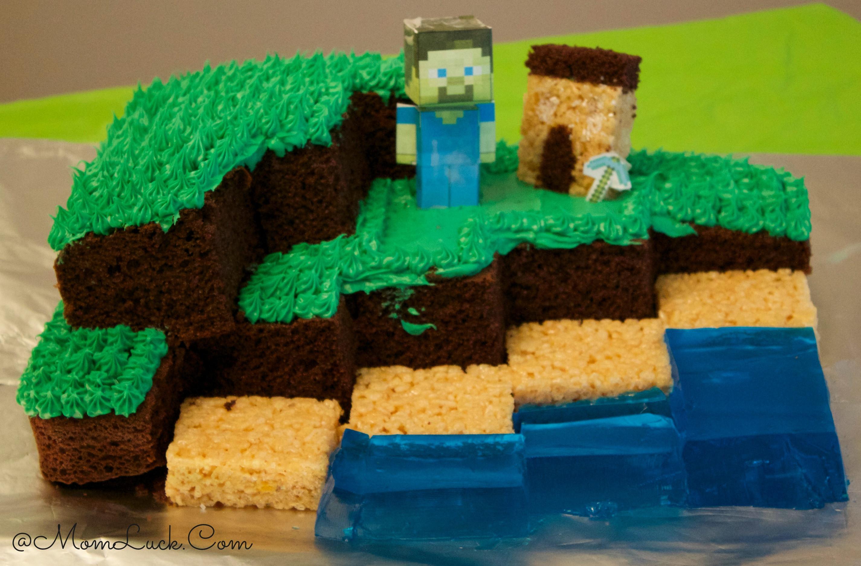 Best ideas about Minecraft Birthday Cake . Save or Pin Minecraft Birthday Party Ideas For Kids Now.