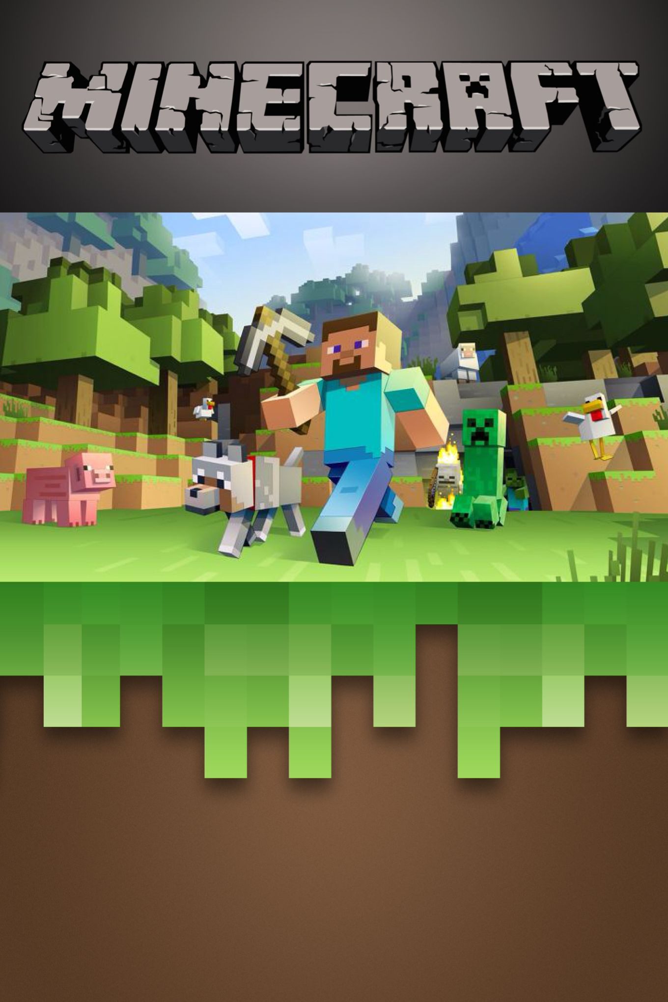 Best ideas about Minecraft Birthday Party Invitations . Save or Pin Free Minecraft invitation template Edit on Phonto app Now.