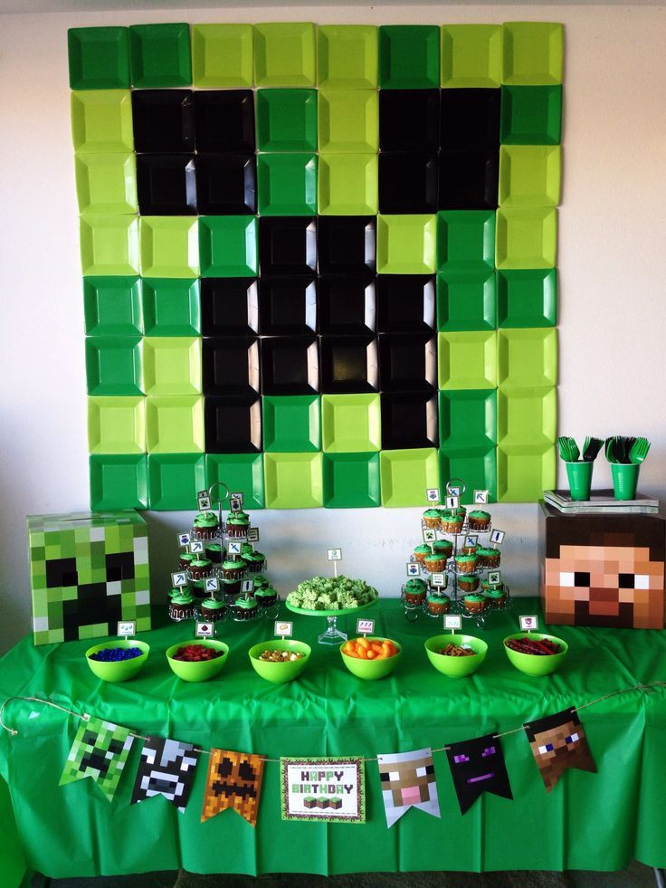 Best ideas about Minecraft Birthday Party Supplies . Save or Pin Minecraft Birthday Party Ideas Pinterest Now.