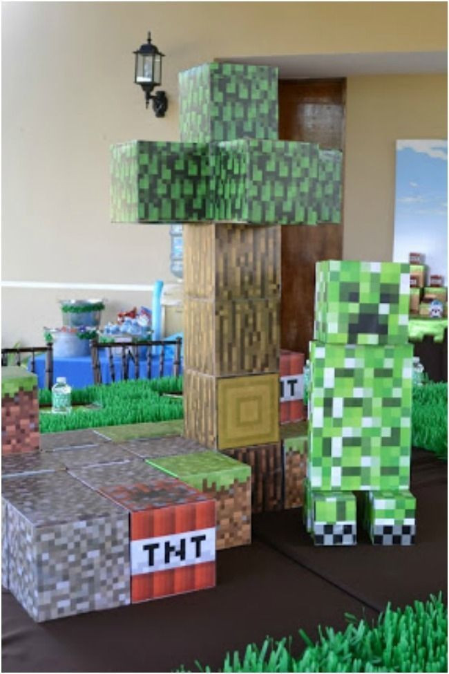 Best ideas about Minecraft Birthday Party Supplies . Save or Pin Top 10 Minecraft Party Ideas Now.
