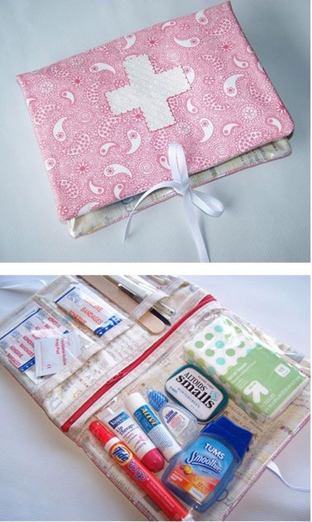 Best ideas about Mini First Aid Kit DIY . Save or Pin 20 DIY First Aid Kits Now.