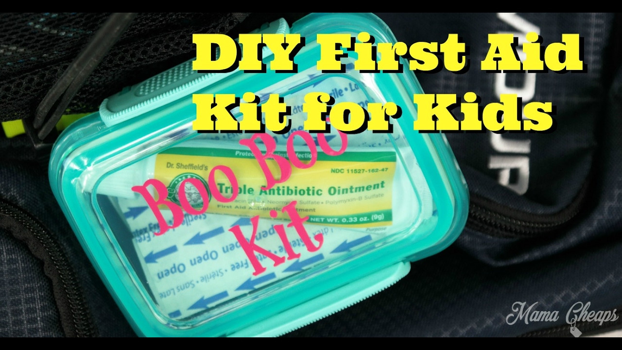 Best ideas about Mini First Aid Kit DIY . Save or Pin DIY Mini First Aid Kit for Kids Now.
