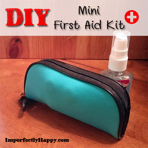 Best ideas about Mini First Aid Kit DIY . Save or Pin DIY Mini First Aid Kit Imperfectly Happy Homesteading Now.